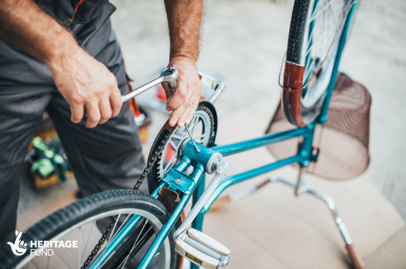 Free Dr Bike session at Cally Park